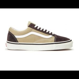 Vans Old Skool Chocolate Khaki Men's Shoes